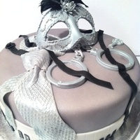 Fifty Shades Of Grey Birthday Cake Fifty Shades of Grey Birthday Cake