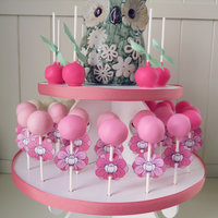 Pink Ombre Cake Pops