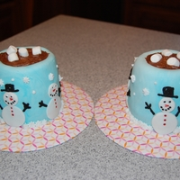 Hot Chocolate Cup Love this idea! Made for my daughters two 1st grade teachers for Christmas
