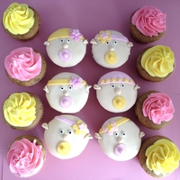 Baby Girls   Planet Cake's baby cupcakes