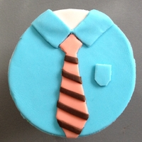 Shirt And Tie Cupcake
