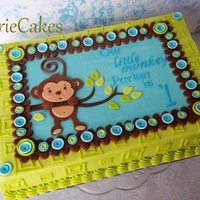 1St B-Day Monkey