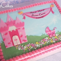 Princess Castle Baby Shower
