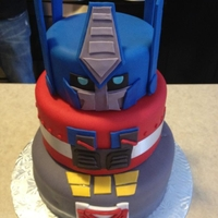 Transformers Cake! Inspired by a cake I found online - Thank you!! My nephew LOVED IT!