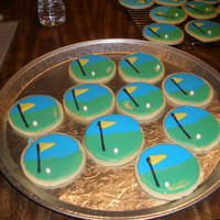 Golf Charity Cookies