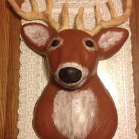 Mounted Deer Cake   Mounted Deer Cake