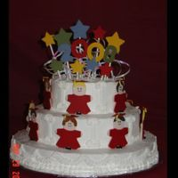 Graduation Cake - Tomorrow's Stars!