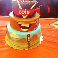 Coles Cars Cake Cole's Cars Cake!
