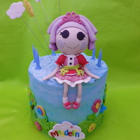 Made For My Daughter Who Is A Big Fan Of Lalaloopsy She Sits About 15Cm High   Made for my daughter who is a big fan of Lalaloopsy!. She sits about 15cm high!