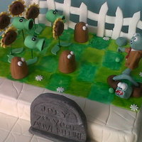 Plants Vs Zombies Cake Made this one for my son's 7th birthday, he's crazy about this game right now!