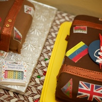 Luggage Cake For 80Th Birthday   My very first cake ever after my 1st class