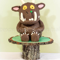 Gruffalo Themed Party For my son's fourth birthday :) The wall decorations were designed by my fabulous friend who really should get paid to do this...