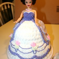 Cake For Barbie Lover With Small Smash Cake Cake for Barbie lover with small smash cake