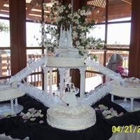Cinderella Wedding My stepson and his fiance brought my husband and I a picture of a cake they wanted for their wedding. It was our first wedding cake since...