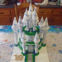 Princess Cake I made this castle for my daughter's 10th birthday.