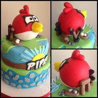 Angry Birds Birthday Boy Colorful Angry birds, birthday boy, colorful