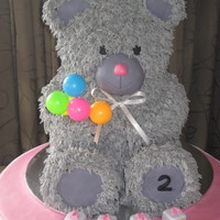 Teddy Bear For My Girls 2Nd Birthday Who Loves Bear So Much And I Followed The Tutorial From Bake A Boo Blog Website Shes Such As Tale Teddy Bear for my girl's 2nd Birthday who loves bear so much :) and I followed the tutorial from Bake a Boo Blog website, she's...