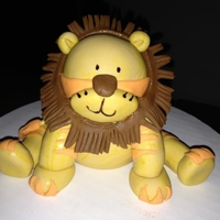 Lion I did a demo in a cake decorating class last week at my culinary school. I taught them how to make this fondant lion.