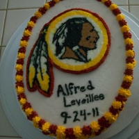 Redskins Cake Redskins Cake