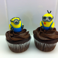 Despicable Me Minion Cupcakes