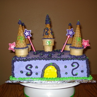Kenzie's B-Day I delivered this cake in a blizard