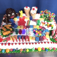 Candyland Cake For My Daughters 6Th Birthday Inspiration From Several Cc Users Candyland cake for my daughters 6th birthday. Inspiration from several CC users.