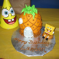Spongebob Squarepants Pineapple We made Spongebob cake pops for my grandson's 2nd birthday and needed a small cake to put the candle in for him to blow out. My first...