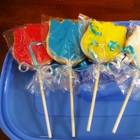 Smurf Cookies-Pitufo   I made these cookies for a smurf birthday party