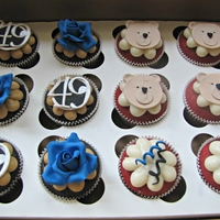 Assorted Cupcake Designs!