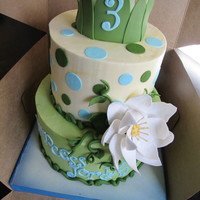 Princess And The Frog Cake!