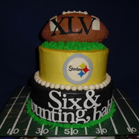Steelers Super Bowl Cake
