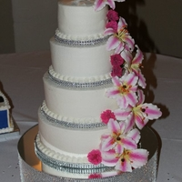My Daughter's Wedding Cake My friends all thought I was crazy to do it, but I made my daughter's wedding cake. To help save time on a busy wedding day and make...