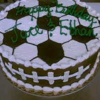 Soccer/football Cake *