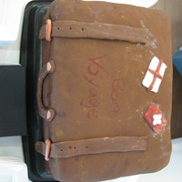Suitcase Cake My first ever suitcase cake