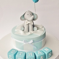 Christening Cake For A Little Boy Christening cake for a little boy