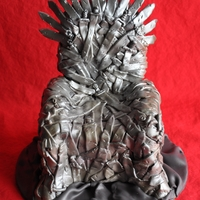 The Iron Throne I'm a big A song of Ice and Fire Fan (book series) and A Game of Thrones (tv show) so wanted to make a cake related to the series and...