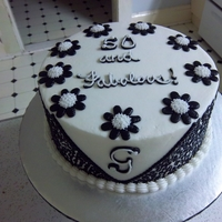 50 And Fabulous   All decorations are buttercream