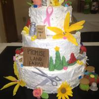 Personality Birthday Cake This is the most special cake I've ever made. It was made for my Nannie's last birthday day in June. She was nearing the end of...