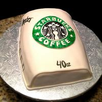 Starbucks Cake Was Coffee Flavor With Caramel Drizzle Starbucks Cake, was coffee flavor with caramel drizzle.