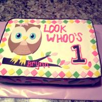 Owl 1St Birthday! Owl First Birthday! Look Whoo's 1!!