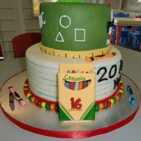 20Th Anniversary Preschool Cake