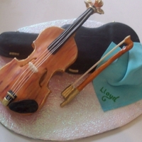 The Fiddler A birthday cake for an 80year old friend who plays the fiddle