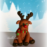Rudolph My take on Rudolph.....in an edible version.... Hope you like him, I thought he is rather cute