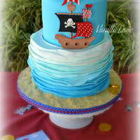 Pirate Themed Cake I Made For My Best Friends Little Boy I Had Free Rein To Make What I Wanted Based The Cake On The Invitesso Ha  Pirate themed cake I made for my best friend's little boy. I had 'free rein' to make what I wanted. Based the cake on the...