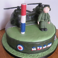 Chinook Birthday Cake