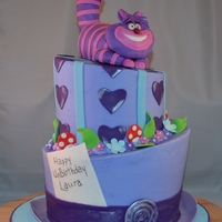 "Mad Hatter With Cheshire Cat Carved 3 Layer 9 And 3 Layer 6 Rct And Mmf Cat Mad Hatter with Cheshire Cat. Carved 3 layer 9"" and 3 layer 6"". RCT and MMF cat."