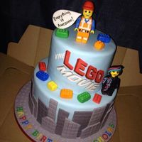 Lego Movie Cake Everything Hand Made And Edible   *Lego movie cake. Everything hand made and edible.