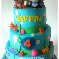 Under The Sea   This is buttercream with fondant accents. Octonauts inspired