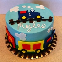 "6 Smash Cake With Fondant Accents Cupcakes To Match Theme First Birthday 6"" smash cake with fondant accents Cupcakes to match theme First birthday"