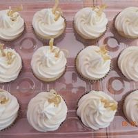 Limoncello Cupcakes Limoncello cupcakes with limoncello buttercream and candied lemon peels
